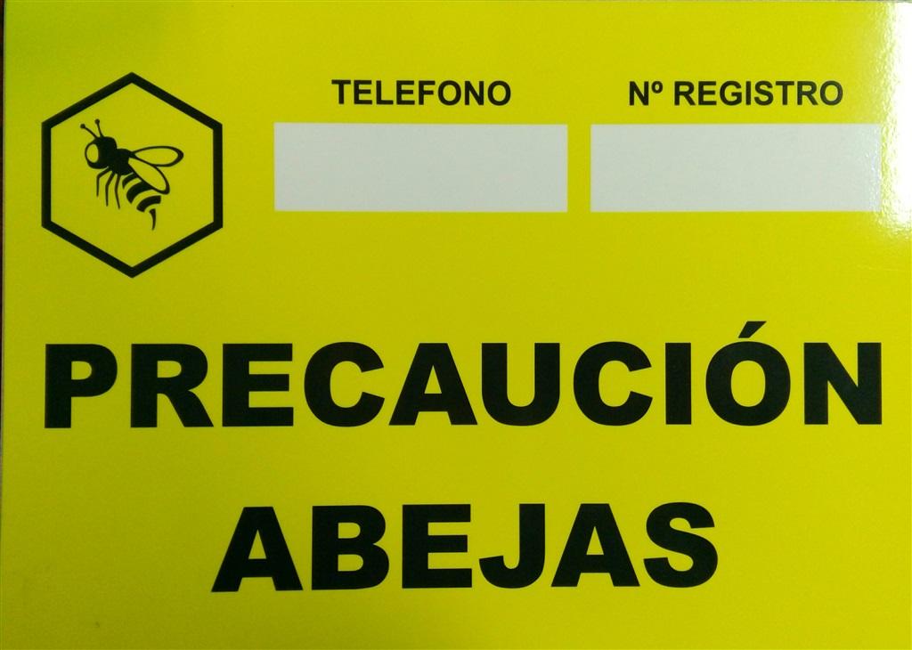 Cartel aviso abejas amarillo - PRECIOS BARATOS.Comprar en Tienda ...